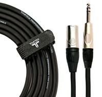 TOURTECH TTAC-3PSXM 10ft/3m Male XLR - Stereo Jack Cable