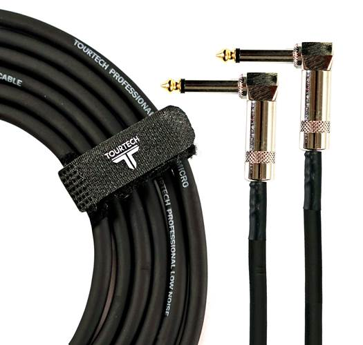 TOURTECH TTPC-060LDL 24 Inch Angled Patch Cable