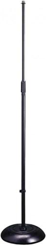 TOURTECH TTS-MI1120BK Round Base Microphone Stand