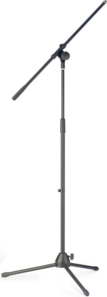 TOURTECH TTS-MI2022BK Heavy Duty Microphone Boom Stand