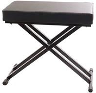 TOURTECH TTBE-KA60 Adjustable Double Braced Keyboard Bench