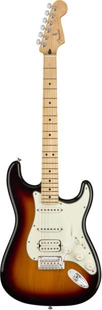 Fender Player Stratocaster HSS 3 Colour Sunburst Maple Fingerboard
