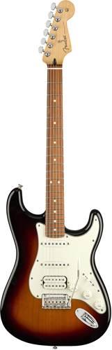 Fender Player Stratocaster HSS 3 Colour Sunburst Pau Ferro Fingerboard