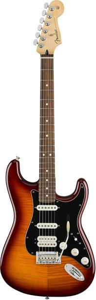 Fender Player Strat HSS Plus Top Tobacco Burst PF