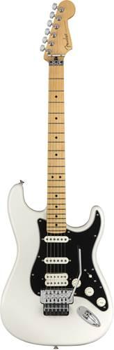Fender Player Strat Floyd HSS Polar White MN