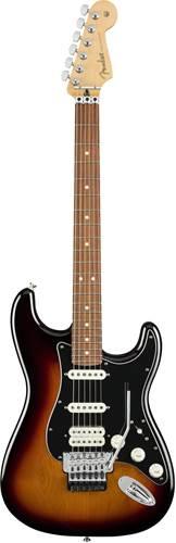 Fender Player Stratocaster Floyd HSS 3 Colour Sunburst Pau Ferro Fingerboard