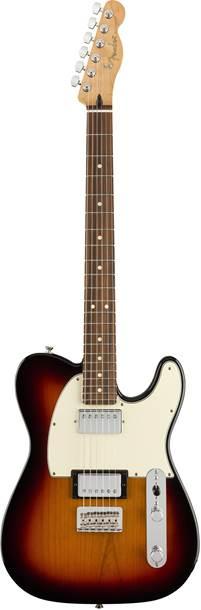 Fender Player Telecaster HH 3-Color Sunburst Pau Ferro Fingerboard