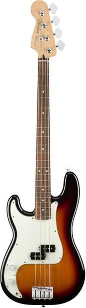Fender Player Precision Bass 3-Color Sunburst Pau Ferro Fingerboard Left Handed