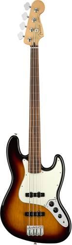 Fender Player Jazz Bass Fretless 3-Color Sunburst PF