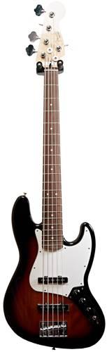 Fender Player Jazz Bass V 3-Color Sunburst PF