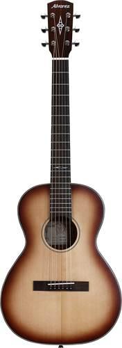 Alvarez Delta DeLiteE Mini Blues Travel Guitar w/ Pickup