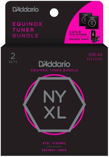 D'Addario NYXL0942 and CT-18 Tuner Bundle