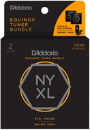 D'Addario NYXL1046 and CT-18 Tuner Bundle