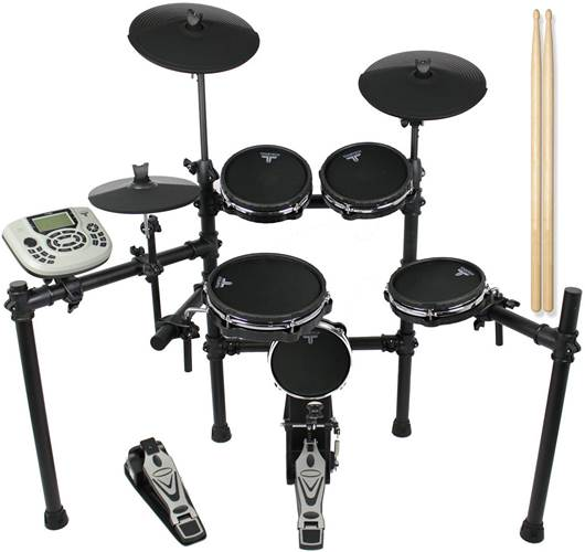 TOURTECH TT-22M 5 Piece All Mesh Electronic Drum Kit
