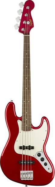 Squier Contemporary Jazz Bass Dark Metallic Red IL