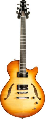 Sadowsky Archtop Semi Hollow Guitar Caramel Burst #A1601