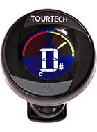 TOURTECH TTA-T01 Colour Screen Clip tuner for Chromatic/Guitar/Bass/Violin/Ukulele
