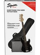 Squier Pack Affinity Series PJ Bass Black