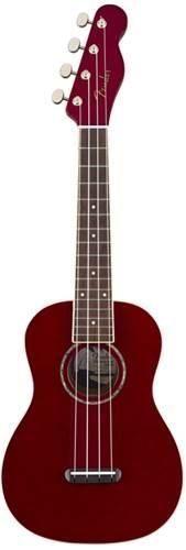 Fender Zuma Classic Ukulele  Candy Apple Red
