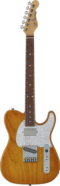 G&L Fullerton Deluxe ASAT Classic Bluesboy Honeyburst RW