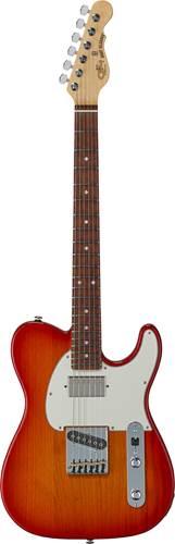 G&L USA Fullerton Deluxe ASAT Classic Bluesboy Cherryburst RW