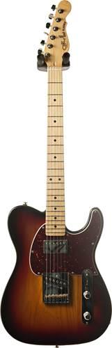 G&L USA Fullerton Deluxe ASAT Classic Bluesboy 3-Tone Sunburst MN