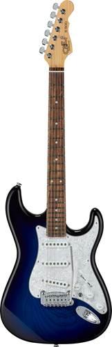 G&L USA Fullerton Deluxe S-500 Blue Burst RW