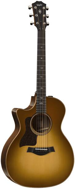 Taylor 714ce Grand Auditorium Western Sunburst V Class Bracing Left Handed