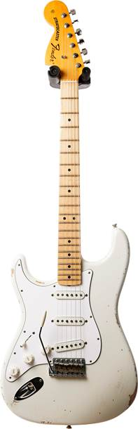 Fender Custom Shop Relic 1968 Stratocaster Aged Olympic White LH #CZ535772