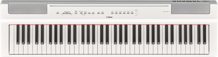 Yamaha P-121WH White Digital Piano