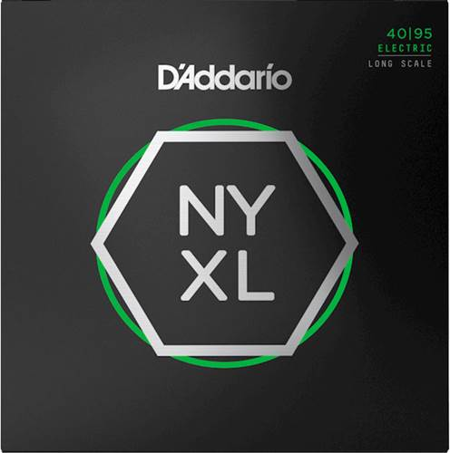 D'Addario NYXL4095 Bass Set Long Scale, Super Light, 40-95