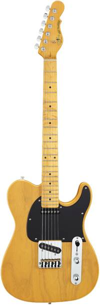 G&L Tribute ASAT Classic Butterscotch Blonde Black Pickguard MN