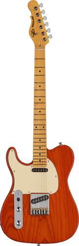 G&L Tribute ASAT Classic Clear Orange Creme Pickguard Maple Fingerboard Left Handed