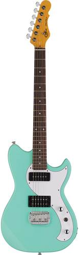 G&L Tribute Fallout Mint Green White Pickguard BC