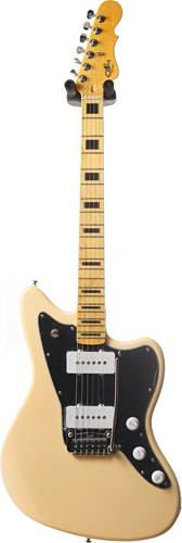 G&L Tribute Doheny Olympic White Black Pickguard MN