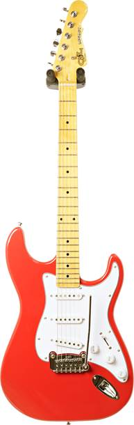 G&L Tribute Legacy Fullerton Red White Pickguard MN