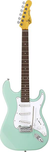 G&L Tribute Legacy Surf Green White Pickguard BC