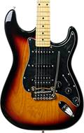 G&L Tribute Legacy HSS 3 Tone Sunburst Black Pickguard MN (Ex-Demo) #190609495