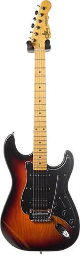 G&L Tribute Legacy HSS 3-Tone Sunburst Black Pickguard MN