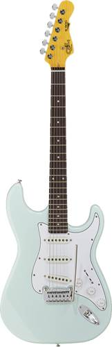 G&L Tribute S-500 Sonic Blue White Pickguard BC