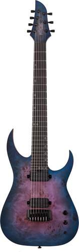 Schecter Keith Merrow KM-7 MK-III Artist Blue Crimson