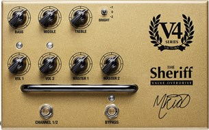 Victory Amps V4 The Sheriff Pedal Preamp