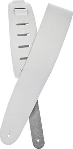 Planet Waves White Leather Guitar Strap