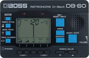 BOSS DB60 Metronome