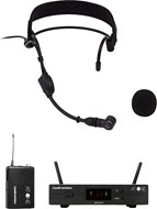 Audio Technica ATW-11F Wireless System with PRO9CW Headworn Condenser Microphone