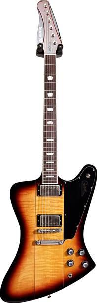 Kauer Guitars Banshee Deluxe Tobacco Burst