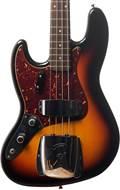 Fender Custom Shop Jazz Bass Journeyman Relic RW LH Faded 3 Tone Sunburst #CZ534465