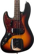 Fender Custom Shop Jazz Bass Journeyman Relic RW LH Faded 3 Tone Sunburst