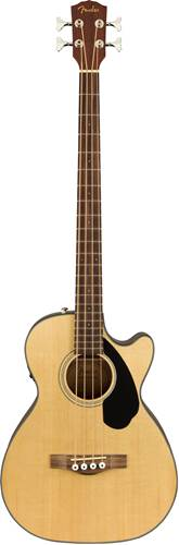 Fender CB-60SCE Classic Design Acoustic Bass Natural Indian Laurel Fingerboard