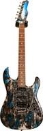 Tyler Guitars Japan Studio Elite HD Black and Blue Shmear #J8107